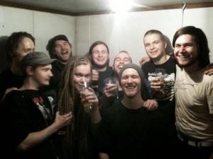 Forræderi / Barren womb / St.vermin Backstage @ 3b